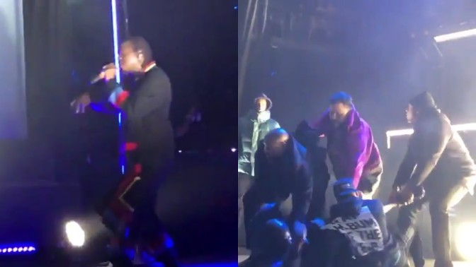 #PushaT TORONTO concert INTERRUPTED after onstage BRAWL! [vid]