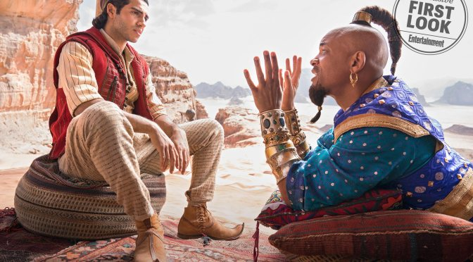 MAG TAG: Live-action #Aladdin 1st look! [details]