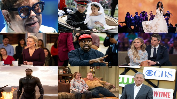 TOP ENTERTAINMENT stories of 2018! #ArianaGrande #Trump & #Kanye #BillCosby and MORE! [vid]