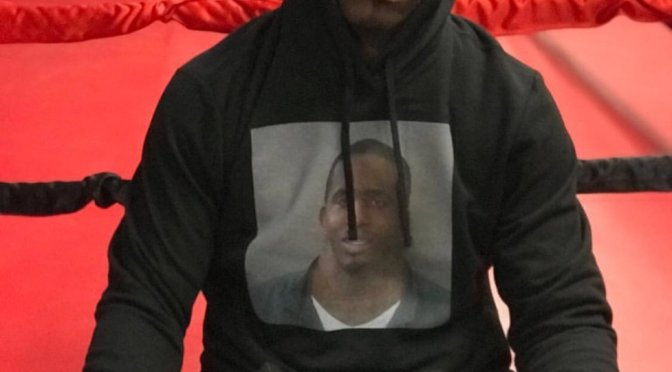 SO the @DamnWideNeck mugshot guy is on social media with some FUNNY CONTENT and selling MERCH! [vids]