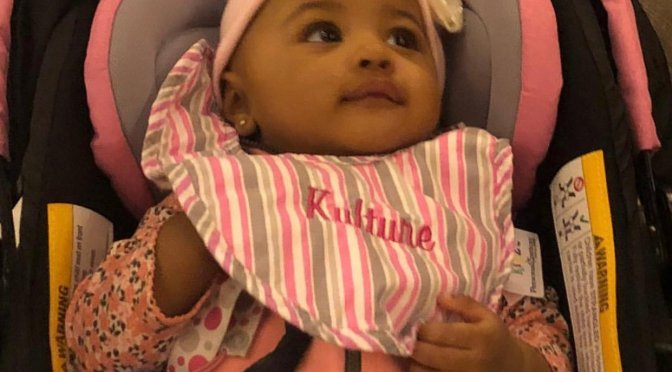 #CardiB shares 1st FULL pic of baby #Kulture! [Pic]