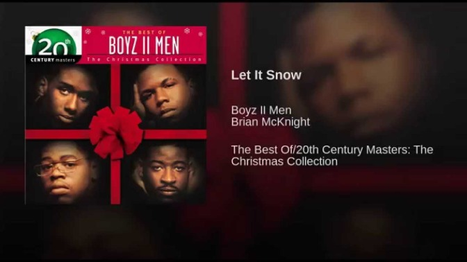 12 JAMS of Christmas: #BoyzIIMen 'Let It Snow' feat. #BrianMcKnight [live]