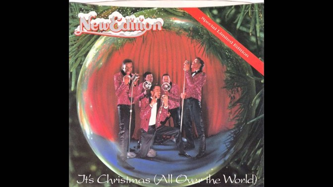 WAKE UP JAM: #NewEdition 'It's Christmas (All Over The World)' [vid]