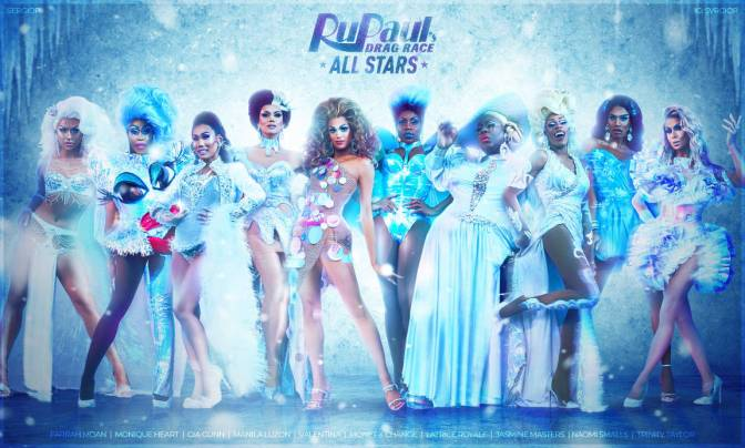 Rupaul's #Allstars4 SUPERTRAILER is here with a new TWIST! [vid]