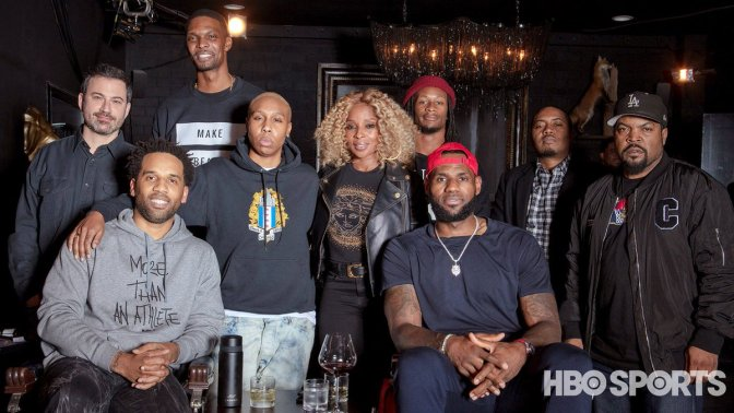#LebronJames teases #TheShopHBO episode 3 with #MaryJBlige #JimmyKimmel #LenaWaithe & MORE! [vid]