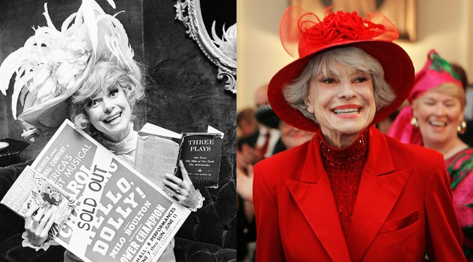 #CarolChanning star of 'Hello Dolly' has died at 97!! [details]
