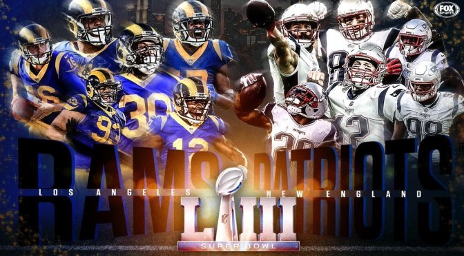 #SuperBowlLIII is SET! #Patriots vs #Rams! [details]