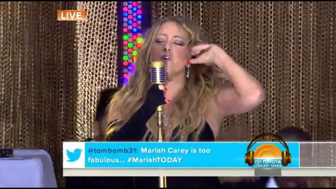 WAKE UP JAM: #MariahCarey 'You Don't Know What To Do' feat. #Wale [live]