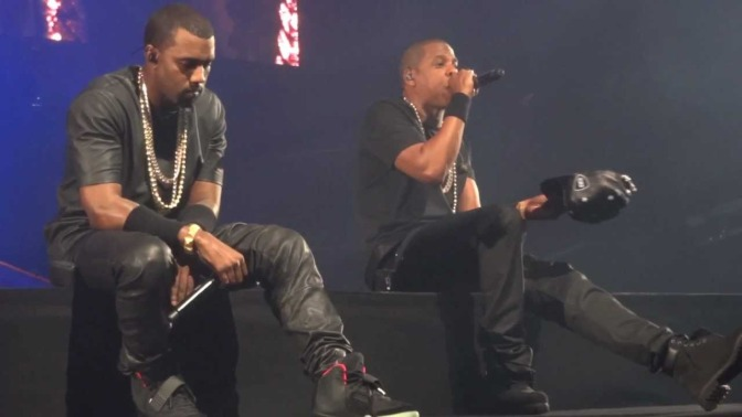 WAKE UP JAM: #TheThrone #JAYZ & #Kanye 'New Day' [LIVE]