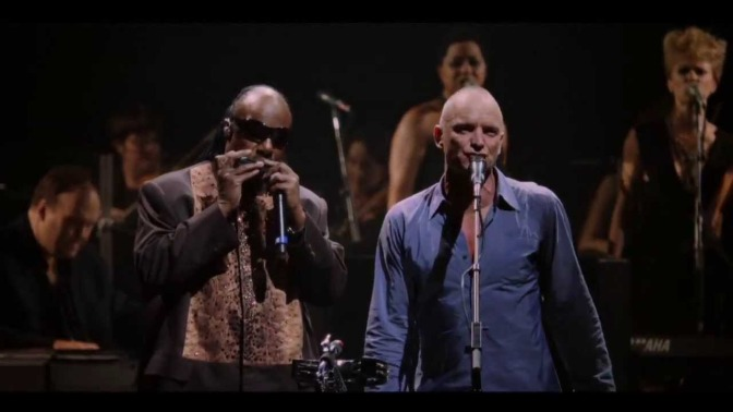 WAKE UP JAM: #Sting & #StevieWonder 'Brand New Day' [live]