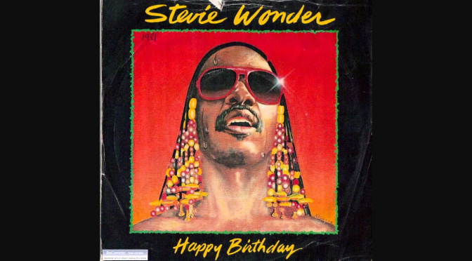 VIBES from the VAULT: #MLK Day: #StevieWonder 'Happy Birthday' [vid]