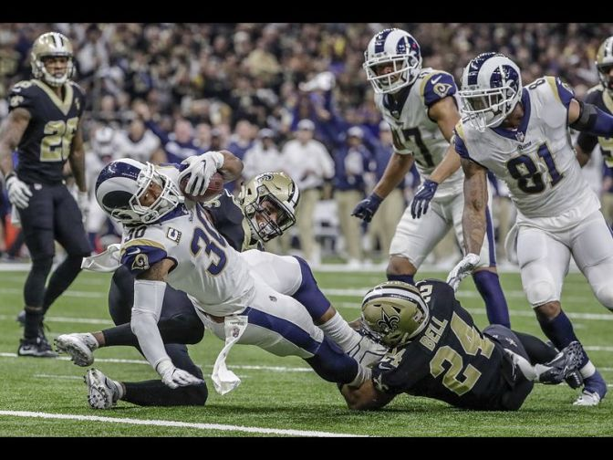 #LARams DEFEAT the #Saints in OVERTIME! [details]