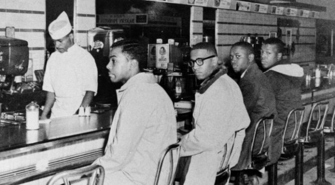 On This Day in HISTORY: The #GreensboroFour staged a SIT-IN to protest segregation! [vid]