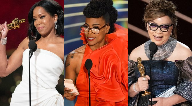 #Oscars 2019! Huge WINS in BLACK! #ReginaKing #HannahBeachler #SpikeLee #RuthCarter & more nab HUGE WINS! [details]