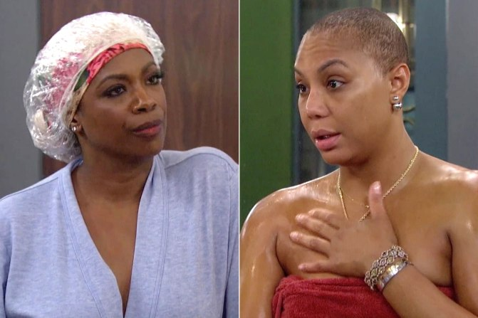 #TamarBraxton & #KandiBurruss MAKE NICE on #BBCeleb! [vid]