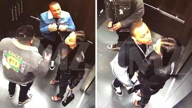 NEW FOOTAGE shows #BowWow was very AGGRESSIVE with #KiyomiLeslie before their DOMESTIC ALTERCATION! [vid]