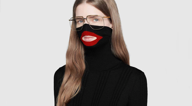 #Gucci PULLS #Balaclava sweater after #BLACKFACE backlash ! [details]
