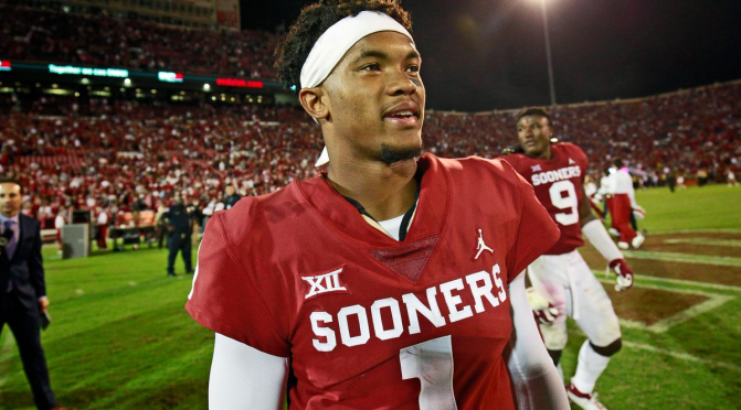 #NFLCombine: #KylerMurray OFFICIAL measurements are IN! [details]