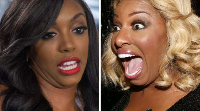 #RHOA NEWS: #PorshaWilliams and #NeNeLeakes are DRAGGING each other on SOCIAL MEDIA…again! [details]