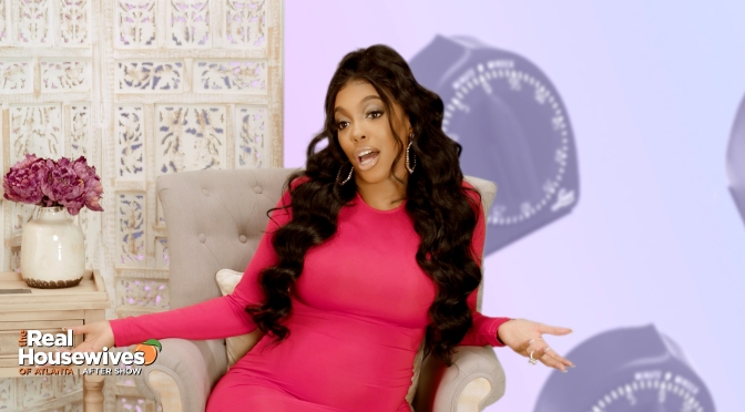#RHOA NEWS: #PorshaWilliams REVEALS baby 'PJ's NAME in GRAND STYLE! [pics]
