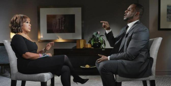 #RKellyINTERVIEW with #GayleKing! [vid]