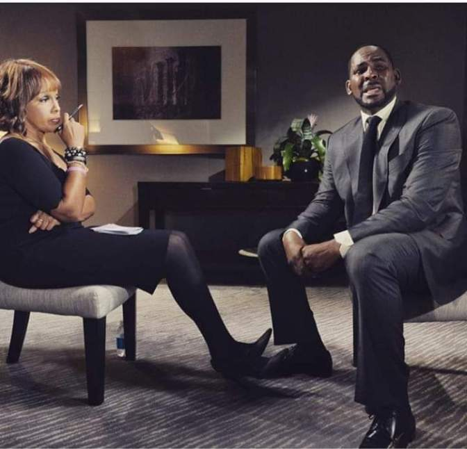 #RKelly CRIES, denies allegations in sitdown with #GayleKing! [vid]
