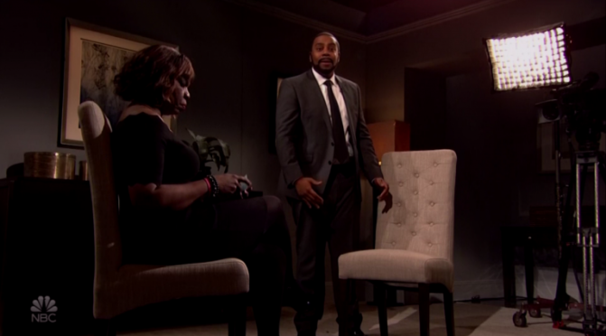 #SNL LAMPOONS #RKellyInterview in cold open! [vid]