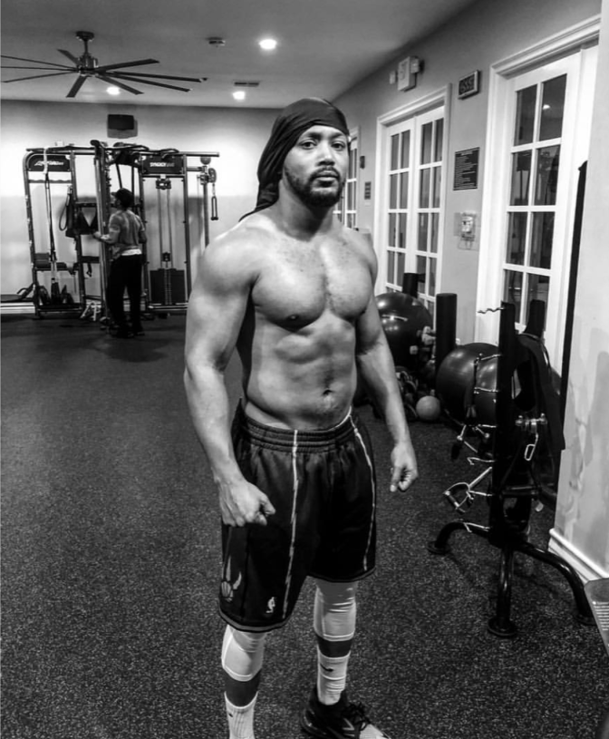 #ThirstTrap: #RomeoMiller STILL in BEASTMODE while prepping for new role! [pics]