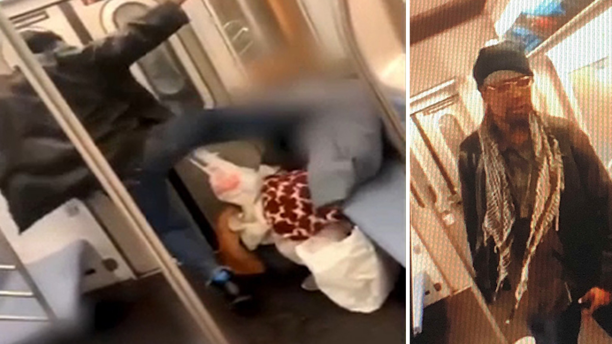Police search for man seen KICKING Elderly woman in the face REPEATEDLY on #NYC Subway--NO ONE HELPS! [vid]