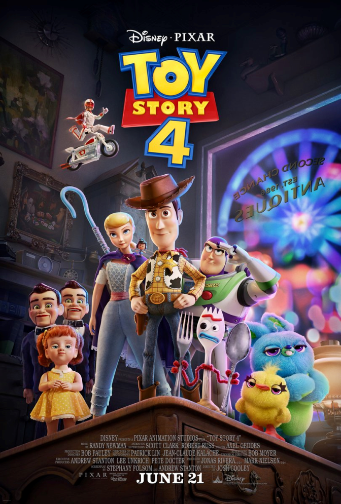 #ToyStory4 TRAILER is HERE!! [vid]