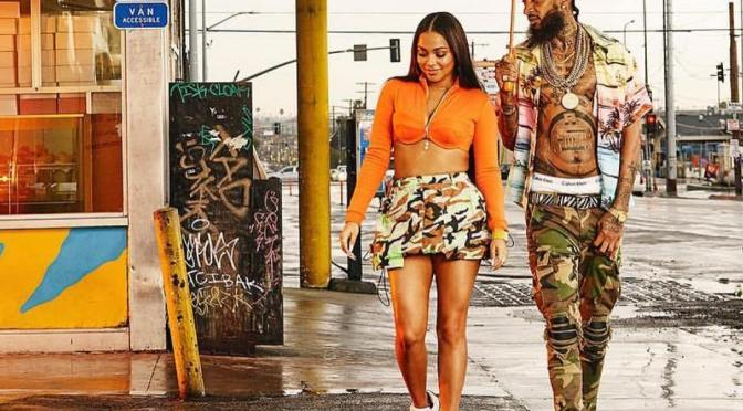 #LaurenLondon BREAKS her silence after the PASSING of #NipseyHussle! [details]