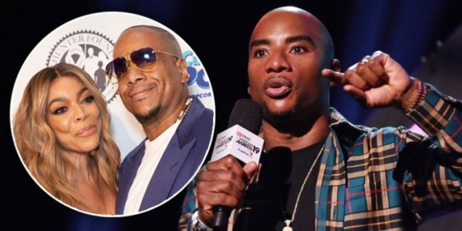 #Charlamagne ETHERS#WendyWilliams estranged hubby & details of #KevinHunter's gay sexscapade surface! [vid]