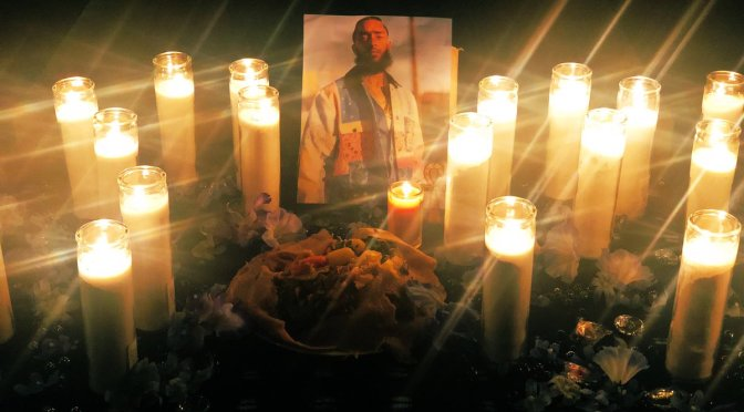 #NipseyHussle continues to receive and OUTPOURING of love from the INDUSTRY! #Drake #Nas #TheGame #IssaRae & MORE [vid]