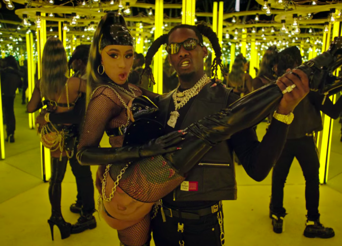 NEW VIDEO: #Offset 'Clout' feat. #CardiB [vid]