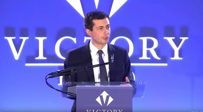 Presidential hopeful #PeteButtigieg opens up about GAY STRUGGLES & Evangelical Hypocrites! [vid]