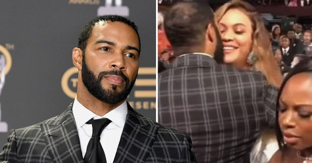 #OmariHardwick gets FLAMED for AWKWARD #Beyonce DOUBLE KISS on the LIPS! [vid]