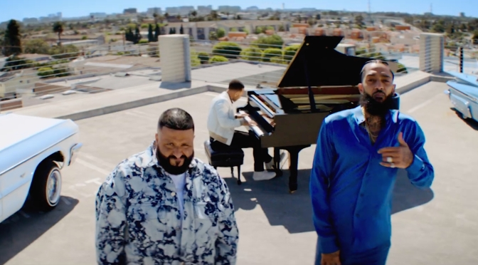 NEW VIDEO: #DJKhaled 'Higher' feat. #NipseyHussle & #JohnLegend [vid]