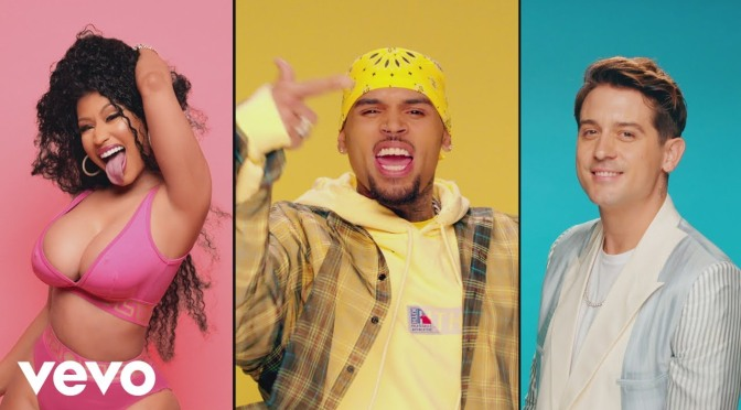 NEW VIDEO: #ChrisBrown 'Wobble Up' feat #Nickiminaj & #GEazy[vid]