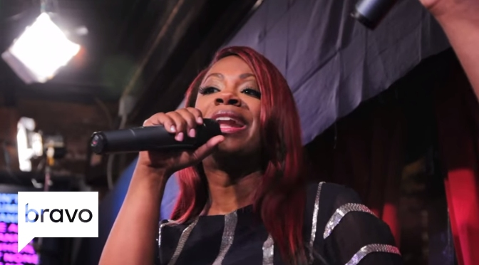 VIBES from the Vault: HBD #KandiBurruss 'No Scrubs' [karaoke]
