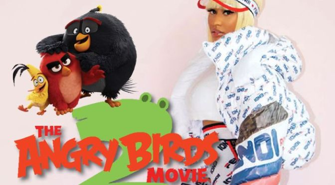1st Look: #NickiMinaj CAST in #AngryBirdsmovie2! [vid]