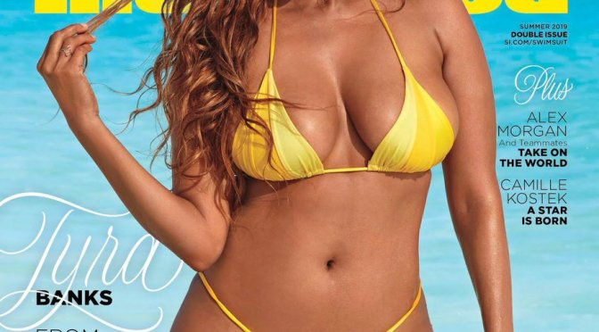 MAG TAG: #TyraBanks comes out of RETIREMENT to grace #SI swimsuit edition! [pics]
