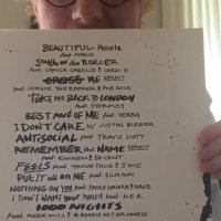 #EdSheeran UNVEILS star-studded TRACKLIST for new album with collabs with #JustinBieber #Khalid #CardiB & MORE! [details]
