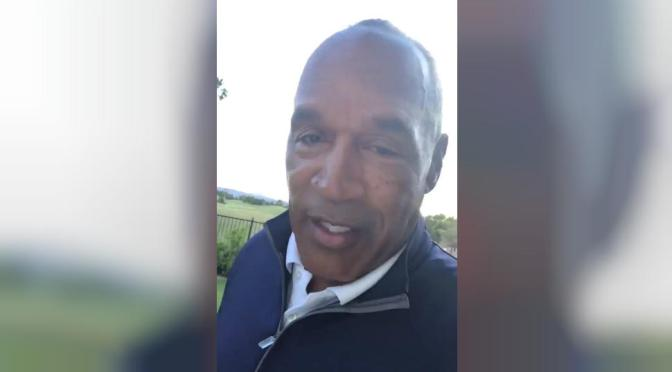 #OJSimpson JOINS Twitter! [vid]