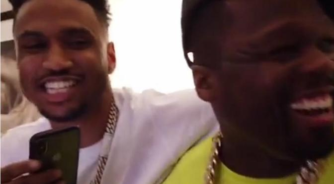 GROUPIE TALES: #50Cent TROLLS #TreySongz' groupies and Trigga runs up on #Fofty! [vid]