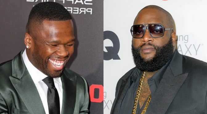 "#RickRoss throws JAB at #50Cent ""He ain't THAT dude no more! [Vid]"