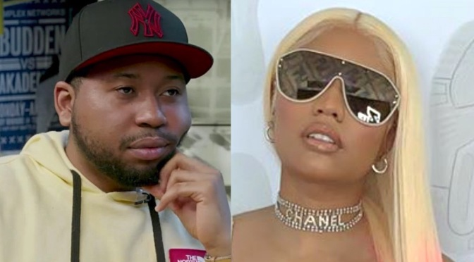 #DJAkademiks pops ALL THE WAY OFF on #Nicki Minaj about her music flopping! [Vid]