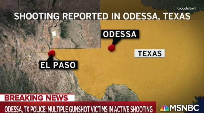 Mass Shooting in #Odessa Texas! 5 killed,many injured! [Details]