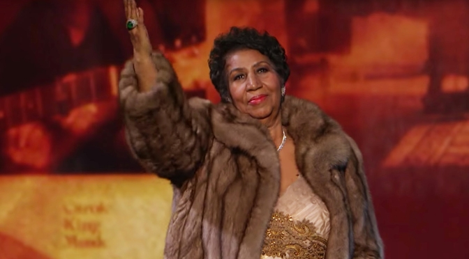 WAKE UP JAM: #ArethaFranklin 'Natural Woman' [live]