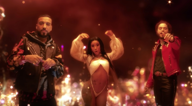 NEW VIDEO: #FrenchMontana 'The Writings on the Wall' feat #PostMalone & #CardiB [VID]