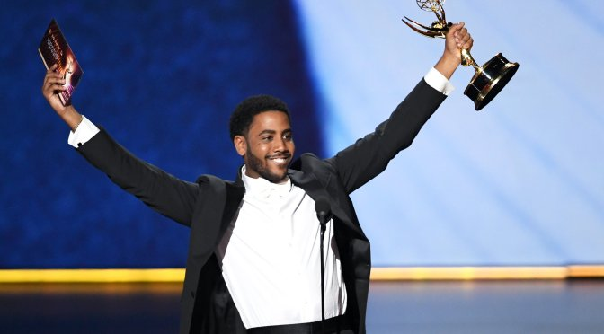 #Emmys 2019: #JharelJerome WINS BEST Lead Actor for @WhenTheySeeUs! [vid]